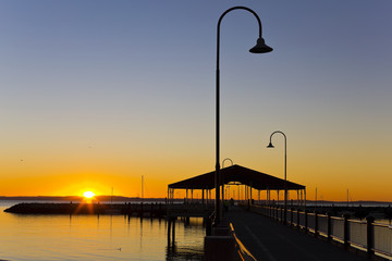 Redcliffe Jetty at Sunsire