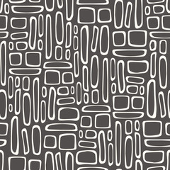 Seamless pattern with square texture