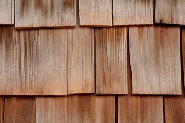 Cedar siding shingles, shakes, background