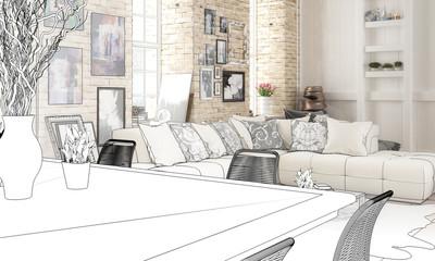 Im Wohnzimmer (Planung)