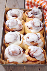 Fresh Sweet Homemade Cinnamon Rolls