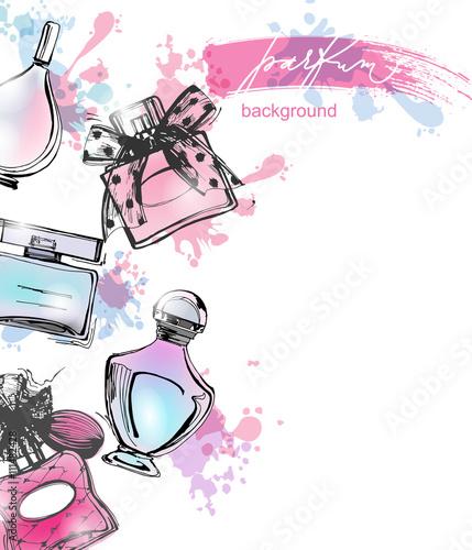 Black perfume bottles for women