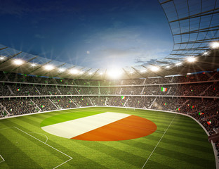 Wall Mural - Stadion Irland 2