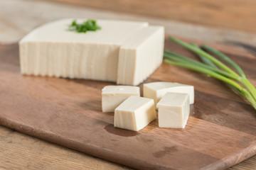 Raw Soy Tofu.