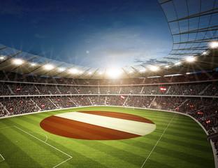 Wall Mural - Stadion Österreich 2