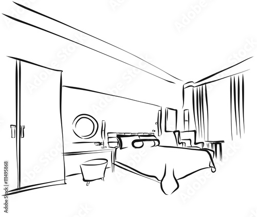coloring pages of hotel - photo#10