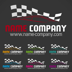logo course automobile