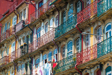 Oporto old buildings