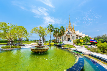Wat None Kum beautuful temple in Nakhon Ratchasima province, Tha