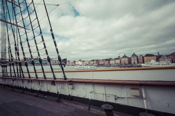 The ship af Chapman in Stockholm Sweden.