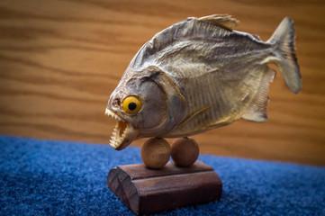 Dried Piranha Trophy