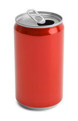 Red Soda Can Open