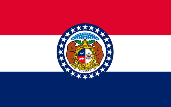 Flag of Missouri, USA