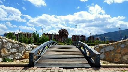 Outdoor park in Macedonia