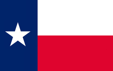 Flag of Texas, USA