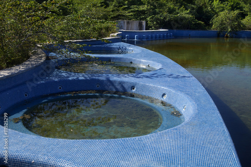 Abandon swimming pool and hottubs full of rain water serive as the perfect environment for for Can mosquitoes breed in swimming pools