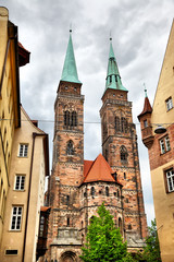 Wall Mural - Church in Nuremberg