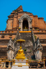 Sculpture. Dragon.Thailand. Chiangmai.