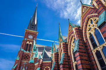 Oscar-Fredriks-Kirche - Göteborg, Schweden.