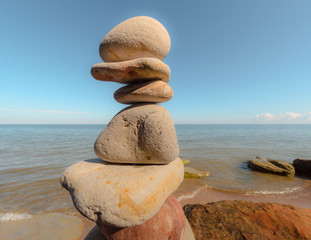 Steady stack stone