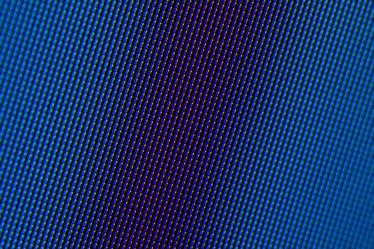 Closeup pixels of LCD TV screen