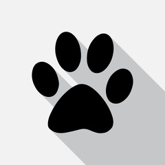 Animal tracks - vector illustration.