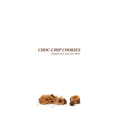 Closeup Cookie Crumbs
