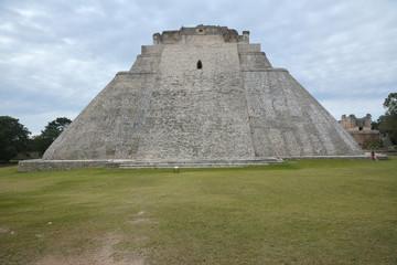 The Pyramid of the Magician, Uxmal, Yucatan Peninsula, Mexico.