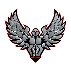 Symbol for gym and fitness.