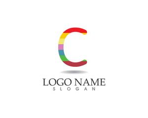 Letter logo children education