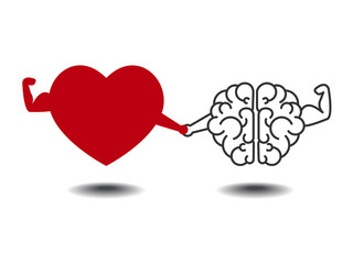 heart and brain best work together