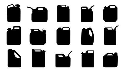 jerry can silhouettes