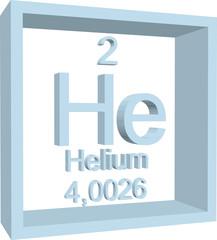 Periodic Table of Elements - Helium