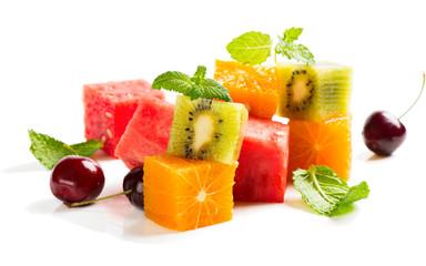 Wall Mural -  Summer fruit salad