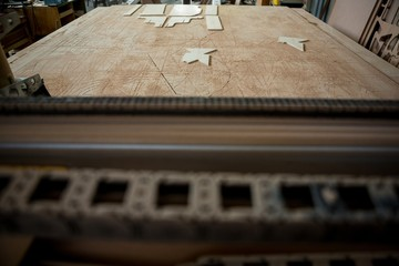 Image of carpenters work table