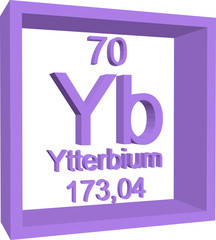 Search photos yb periodic table of elements ytterbium urtaz Gallery