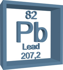 Periodic Table of Elements - Lead