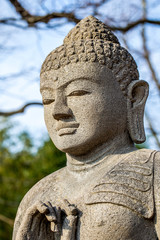 Indische Statue im Leipziger Zoo