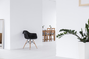 White space in minimalist house