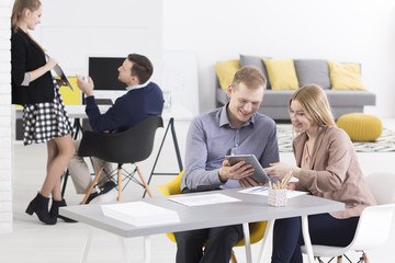 Teamwork in small company