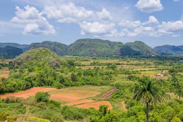 Panorama of Vinales Valley, Cuba