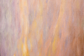 Abstract light pink oil painting background with brush stokes on oil paint. Art concept.