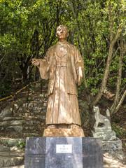 頼山陽 銅像