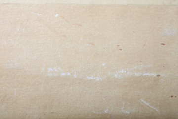 Surface of old paper for textured background. Focus on the centr