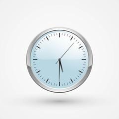Clock, vector illustration