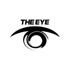 Eye Logo design vector template. Colorful media icon. Creative Vision Logotype concept. Eye Logo vision.