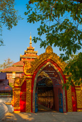 Pagoda. Amarapura, Myanmar. Burma.
