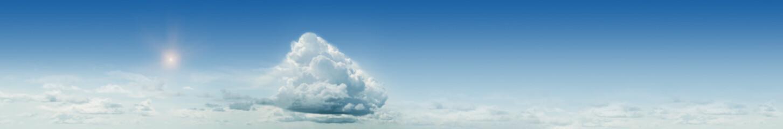 Simple sky panorama