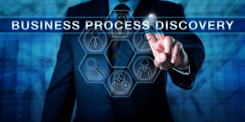 Manager Pushing BUSINESS PROCESS DISCOVERY