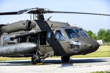 Military helicopter transport